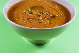 Gaspacho à la pistache et au paprika