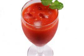 """Apero Style #6 Gaspacho pastèque, oignon et """"Chili Concarneau"""""""